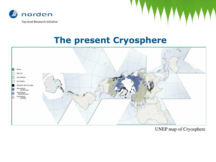 The present Cryosphere