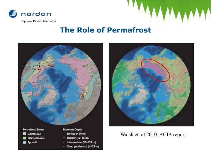 The Role of Permafrost