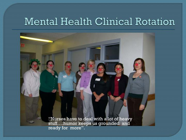 Mental Health Clinical Rotation