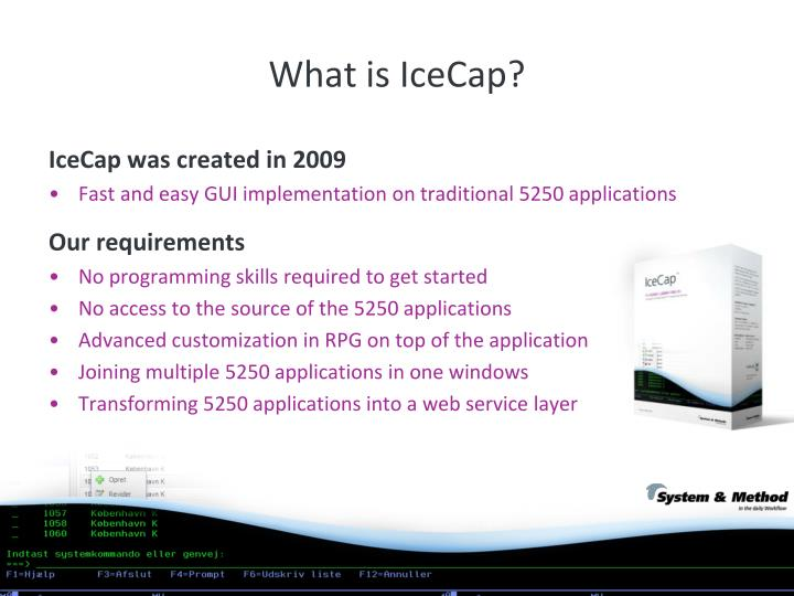 What is IceCap?