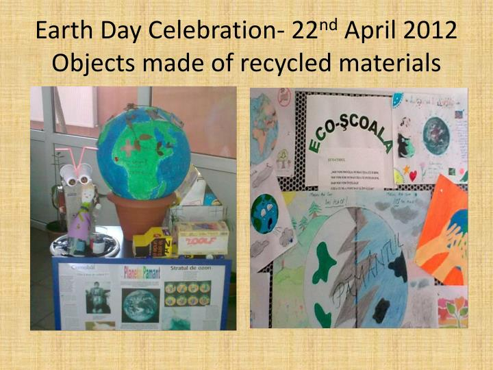 Earth Day Celebration- 22