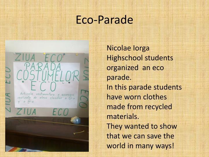 Eco-Parade