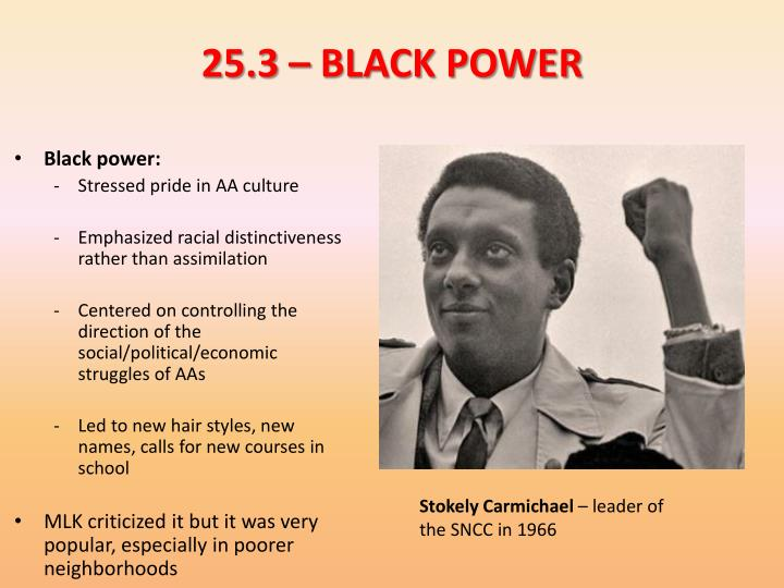 25.3 – BLACK POWER