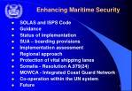 enhancing maritime security