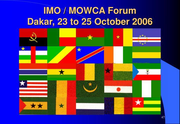 IMO / MOWCA Forum