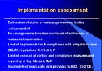 implementation assessment1