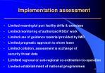 implementation assessment2