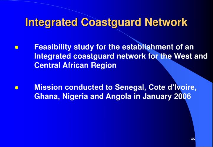 Integrated Coastguard Network
