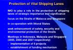 protection of vital shipping lanes
