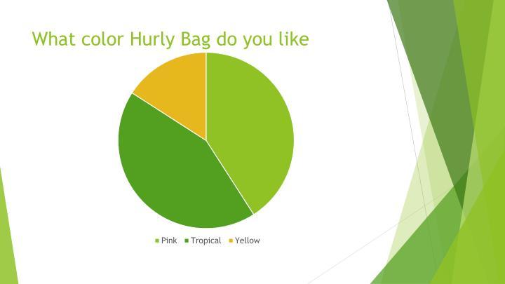 What color Hurly Bag do you like