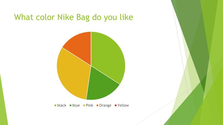 What color Nike Bag do you like