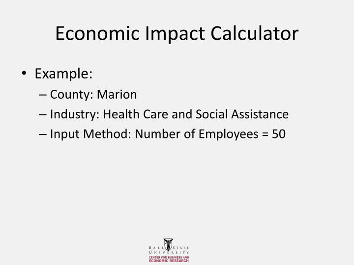 Economic Impact Calculator
