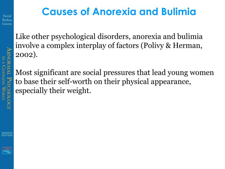 Causes of Anorexia and Bulimia