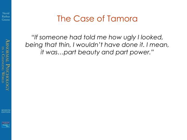 The Case of Tamora
