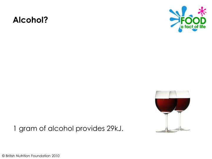Alcohol?