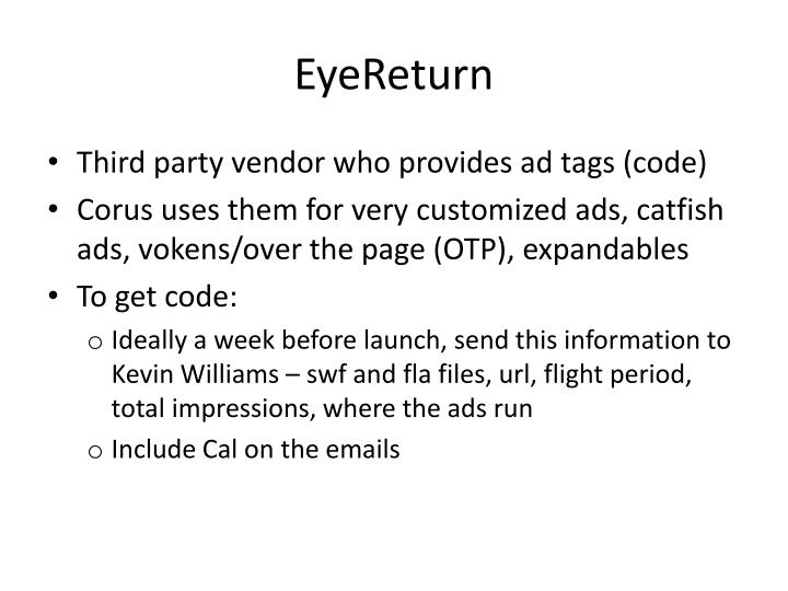 EyeReturn