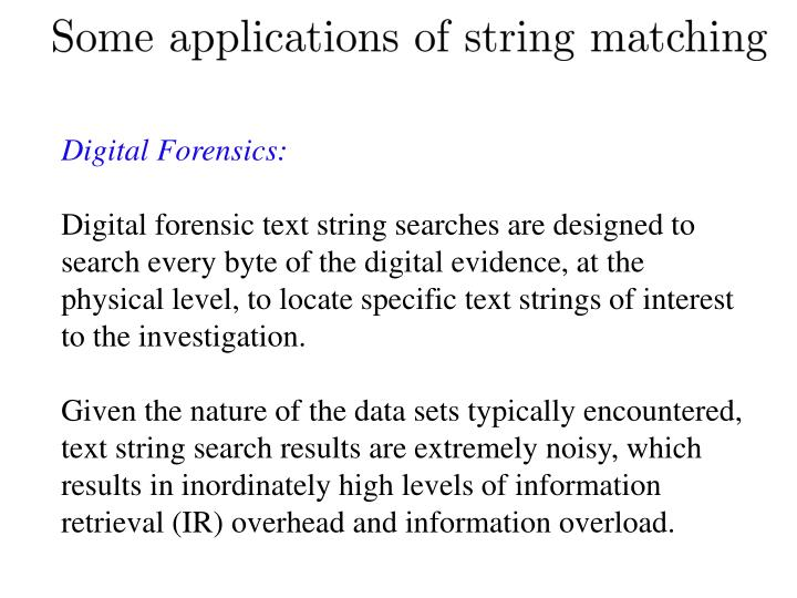 Digital Forensics: