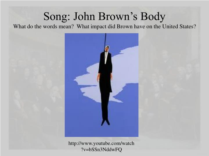 Song: John Brown's Body