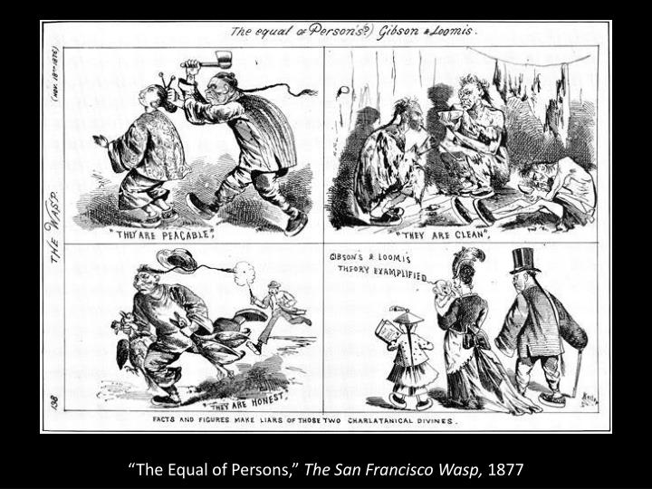 """""""The Equal of Persons,"""""""