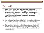 free will2