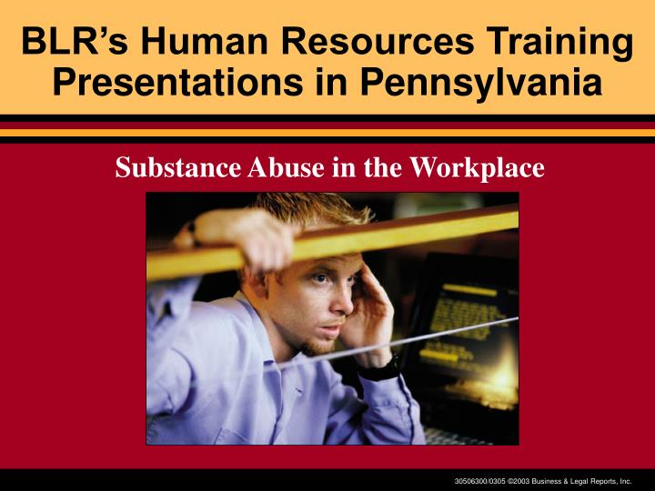 Blr s human resources training presentations in pennsylvania