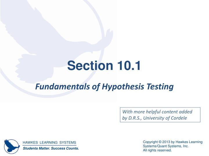 Section 10.1