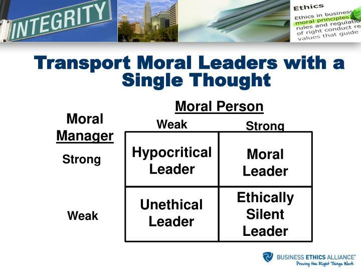 Moral Person