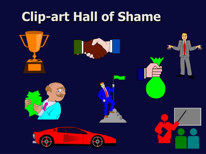 Clip-art Hall of Shame