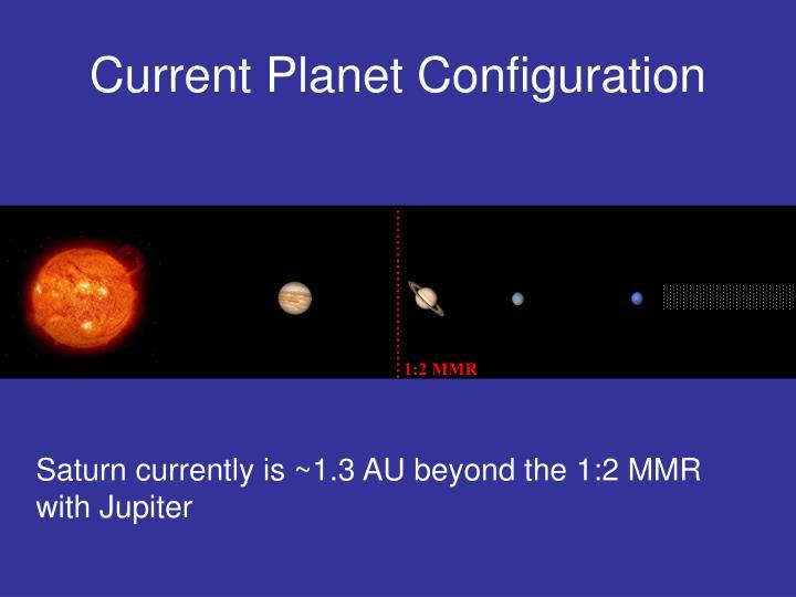 Current Planet Configuration