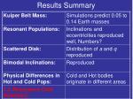 results summary10