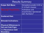 results summary3