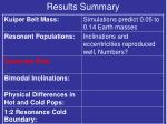results summary4