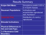 results summary5