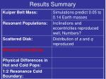 results summary6