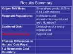 results summary7