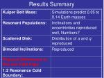 results summary8