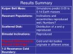 results summary9