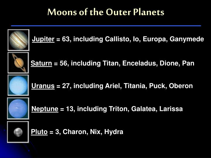 the outer planets moons - photo #36