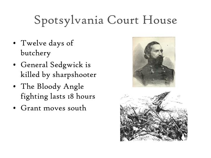 Spotsylvania Court House
