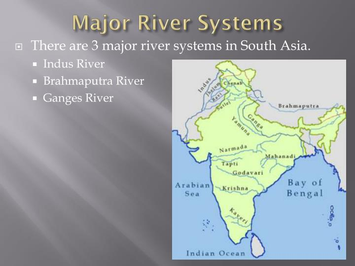 Major River Systems