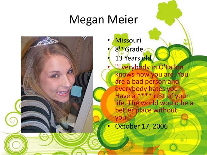 Megan Meier