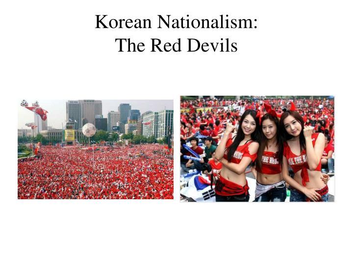 Korean Nationalism: