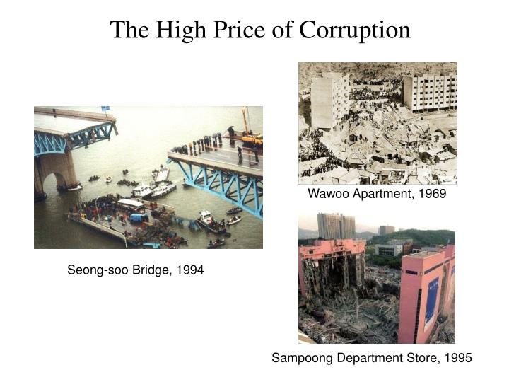 The High Price of Corruption