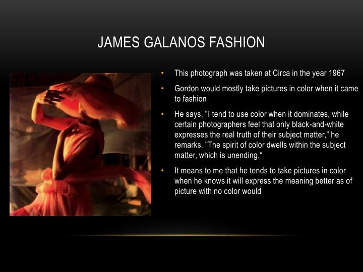 James galanos fashion