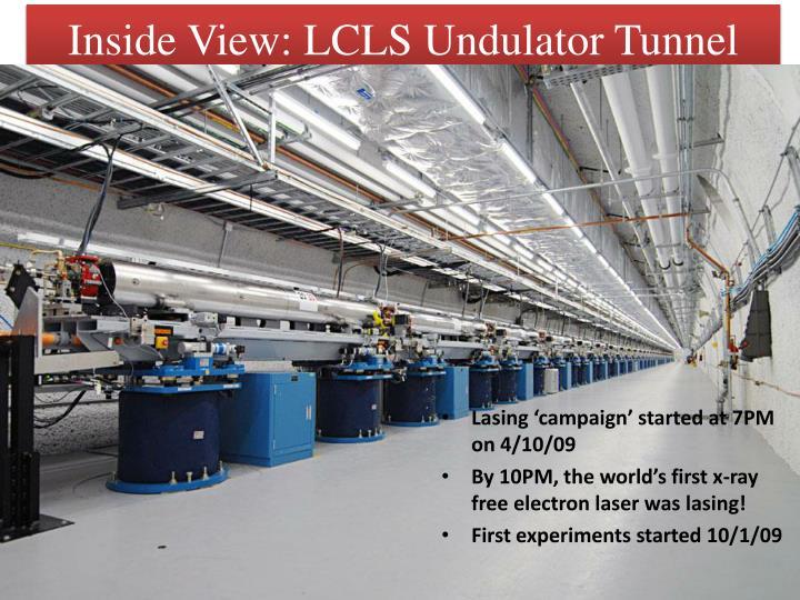 Inside View: LCLS