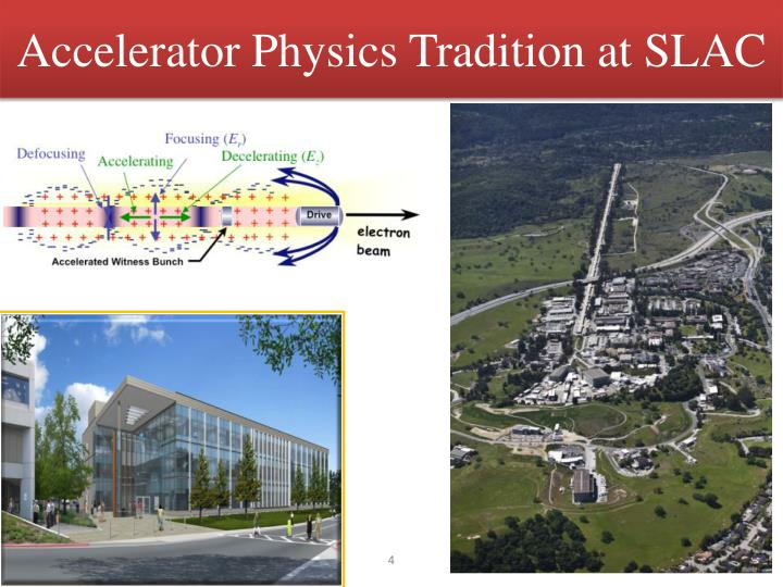 Accelerator Physics Tradition