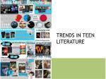 trends in teen literature