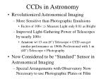 ccds in astronomy
