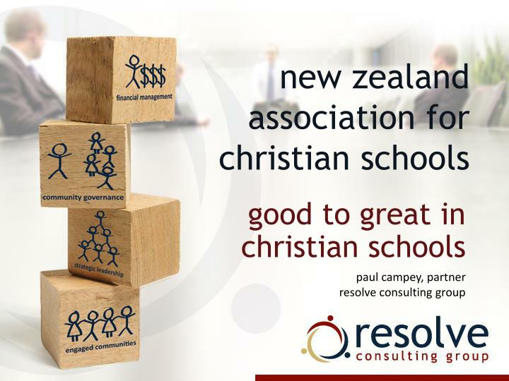 New zealand association for christian schools