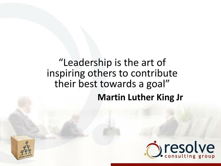 """Leadership is the art of inspiring others to contribute their best towards a goal"